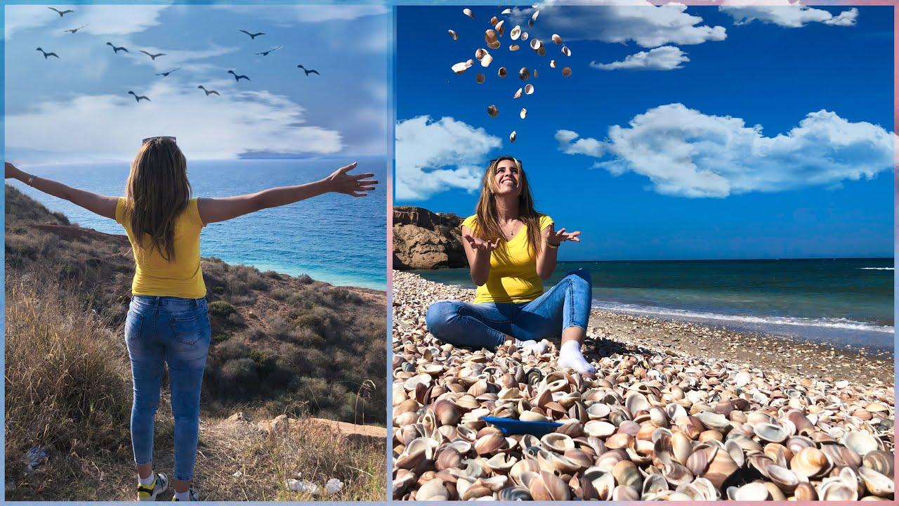 زيارتنا لأغرب شواطئ الريف 🇲🇦 شاطئ المهندس شاطئ القوقعات بقرية اركمان نواحي الناظور