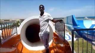 Iberotel Jaz Bluemarine + Jaz Aquamarine Hurghada -  Go Pro - Water Slides
