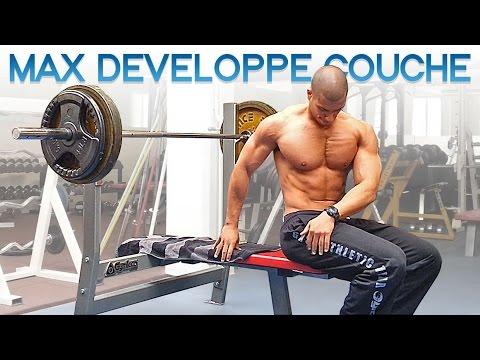Mon Max au Développé Couché   MUSCULATION