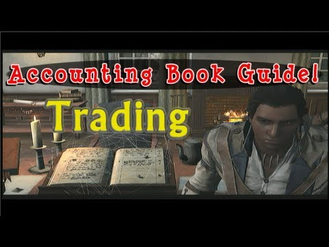 Trading - Accounting Book Tutorial - Easy Money Homestead Convoy Assassin's Creed 3 AC3 FurryMurry7
