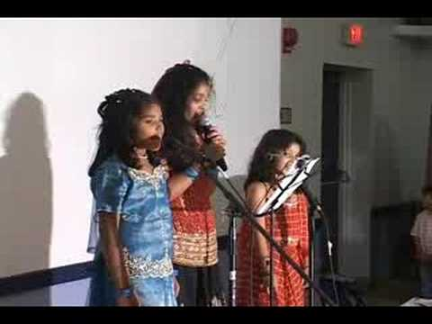 Nia & Paul's Holy Communion - Group Song