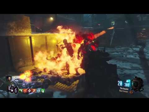 Bo3 Zombies The Giant No Power solo 100 - 110