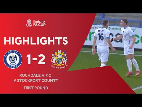 Rochdale Stockport Goals And Highlights