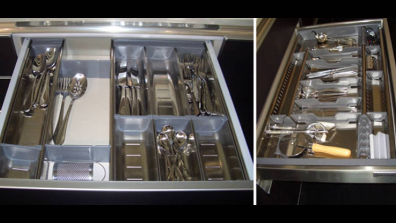 Stainless steel kitchen drawers youtube for Stainless steel drawers kitchen