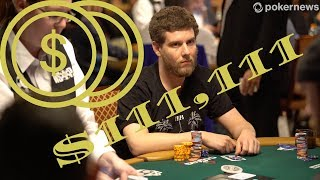 Ari Engel in his 1st $100K Event