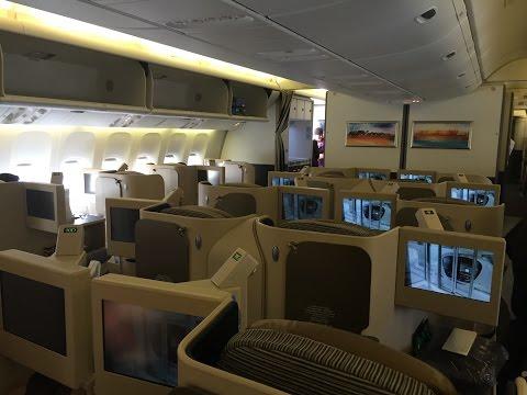 Trip Report: Etihad Airways 777-300ER Business Class Abu Dhabi to Phuket