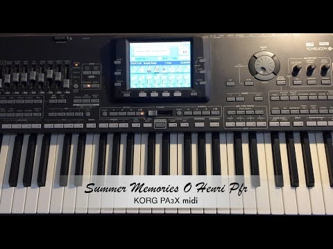 Summer Memories O Henri Pfr.  KorgPa3x midi