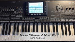 Summer Memories O Henri Pfr KorgPa3x Midi