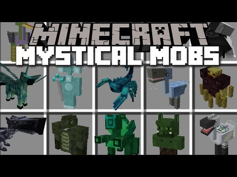 Minecraft KILLER MOBS MOD / FIGHT AND DEFEND THE VILLAGE FROM EVIL MOBS!! Minecraft