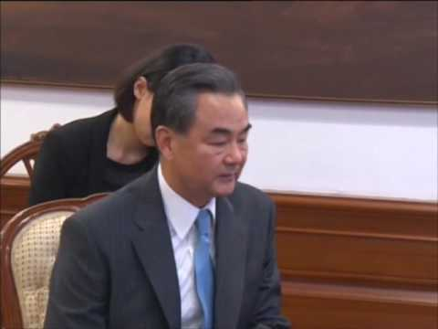 Chinese foreign minister meets Indian PM Modi