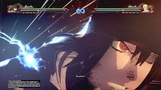 "Naruto Shippuden: Ultimate Ninja Storm 4: Sasuke Uchiha ""THE LAST"" All Moves and Awakening!"