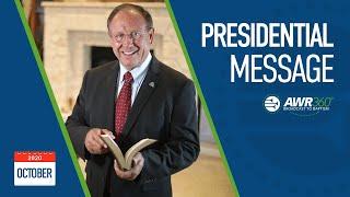 video thumbnail for October 2020 President's Report