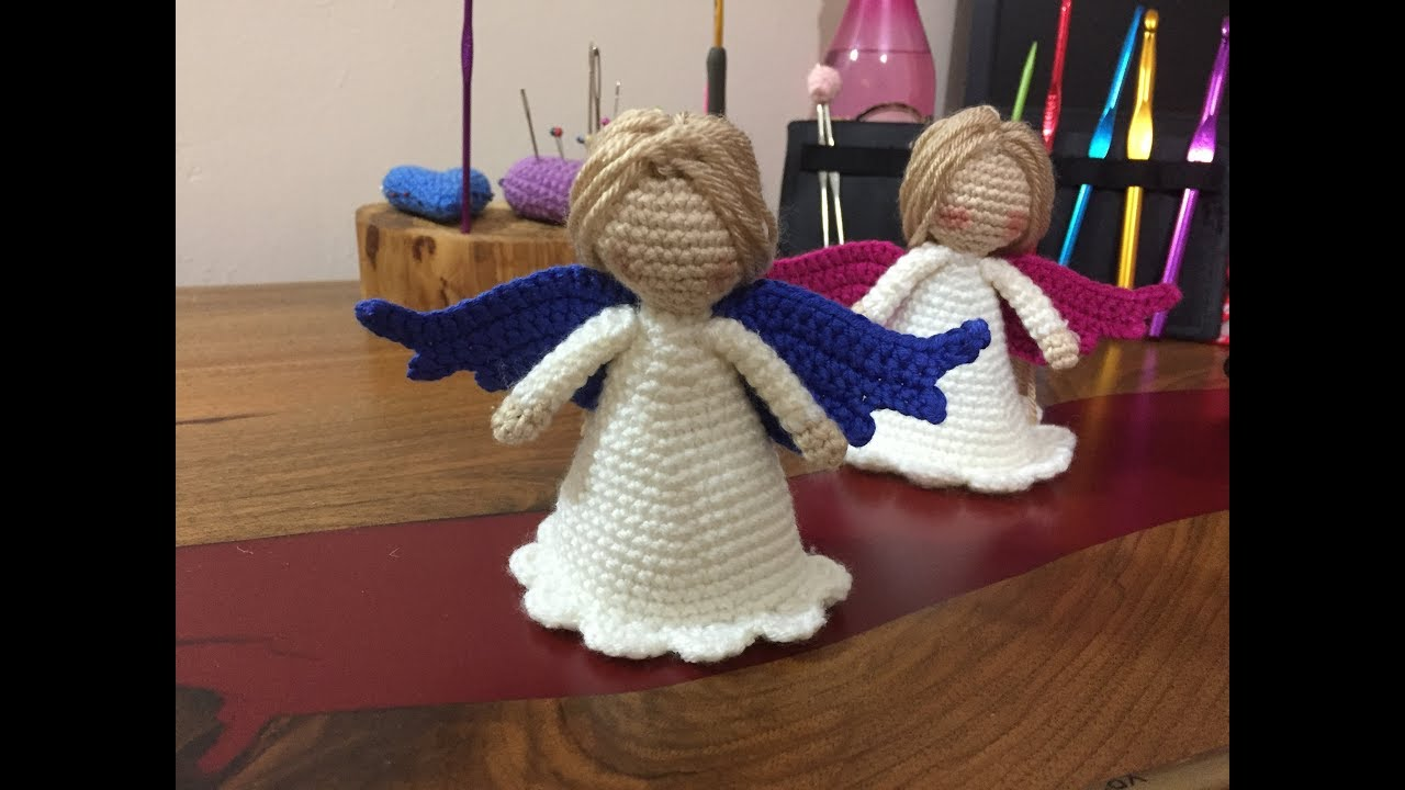 Amigurumi Melek Yapımı | Crochet Angel Wings