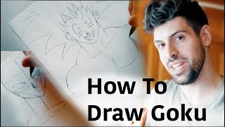 How to Draw Goku Step by Step