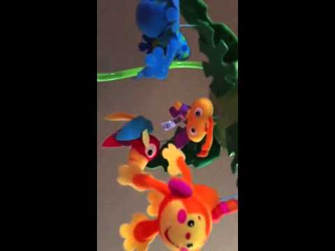 Fisher Price Rainforest Peek A Boo Music Mobile By Khaylhara