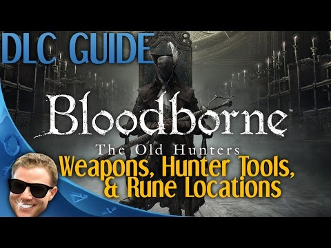 how to use hunter tools bloodborne