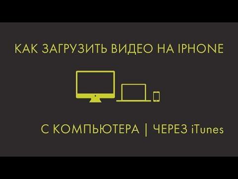Как загрузить видео на Iphone с компьютера (mr.После того как)