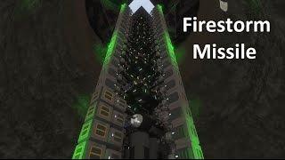 Space Engineers - Firestorm Missile (ICBM)