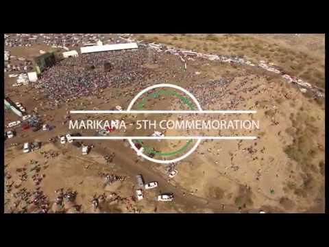 5th Marikana Massacre Commemoration 2017