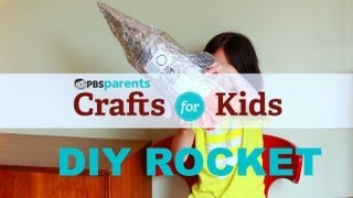 DIY Rocket | Crafts for Kids | PBS Parents