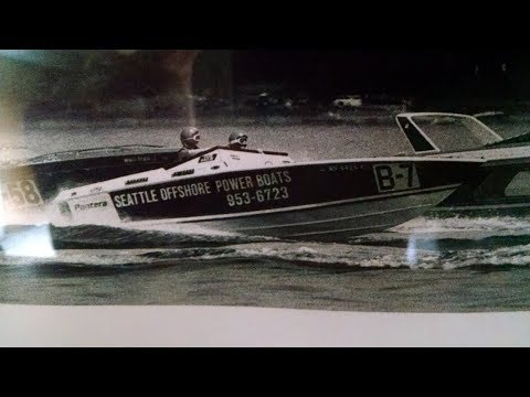 Bill Muncie Memorial Regatta Seattle 1989 offshore/hydros (uncut/unedited)