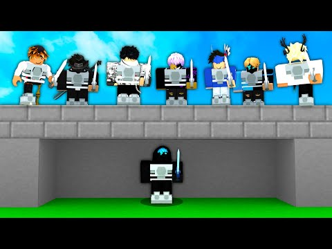 1 VS 16 Clutch.. Can I Win? (Roblox Bedwars)