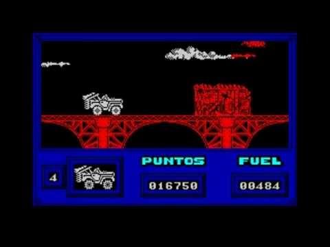 Warajevo (Sinclair ZX-Spectrum emulator for DOS) in DOSBOX v0 74