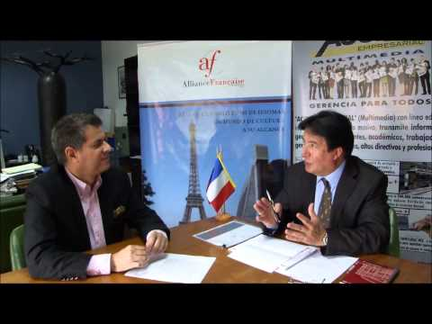 Rafael Nieves Acción Empresarial Multimedia Interview Francais avec  Dr  Alain Villechalane, Directeur de de l'Alliance Française au Vénézuela 2 2