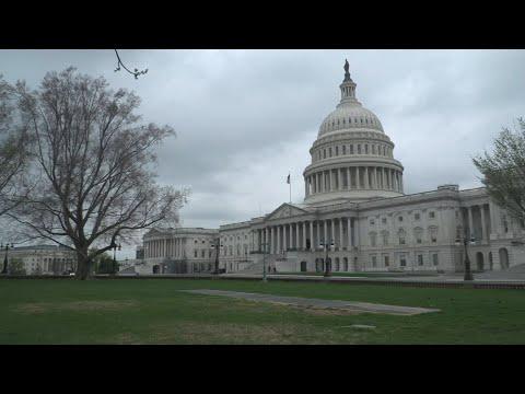 Covid-19 aux USA: premier jour de confinement à Washington DC, le Capitole déserté   AFP Images