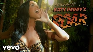 "Katy Perry - Making of the ""Roar"" Music Video"