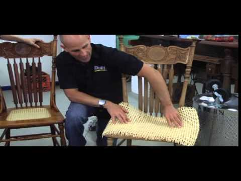 Revibe: Revitalize cane chairs with easy re-caning
