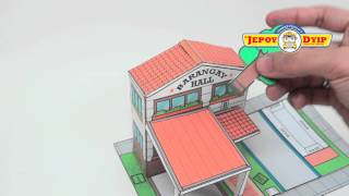 Jepoy Dyip BARANGAY HALL and POLICE STATION 720p