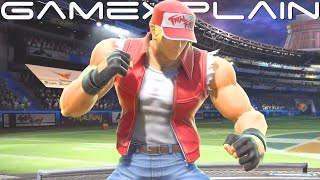 Super Smash Bros. Ultimate - First Look at Terry Bogard in Action! + Sakurai on Future DLC!