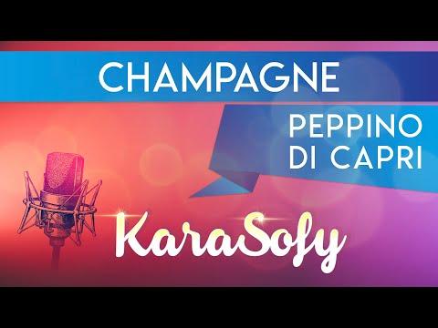 Champagne - Peppino Di Capri - Instrumental - base karaoke