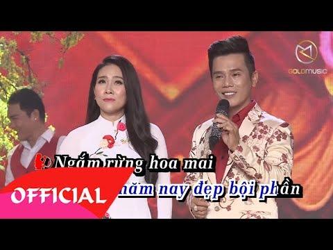Tâm Sự Nàng Xuân KARAOKE Beat - Lê Minh Trung & Vân Khánh | Nhạc Xuân Song Ca Karaoke