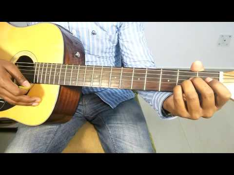 "TOSE NAINA - ARIJIT SINGH ""EASY AND COMPLETE ACOUSTIC GUITAR COVER LESSON/TUTORIAL"""