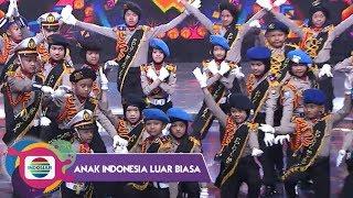 KOMPAK!! Polisi Cilik Polda Metro Jaya Menghibur Penonton | Anak Indonesia Luar Biasa