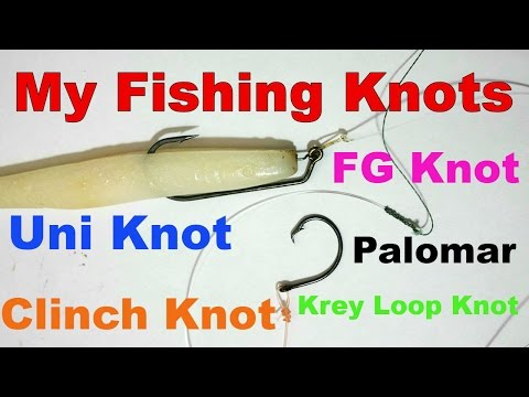 Key West Kayak Fishing - Fishing Knot Arsenal