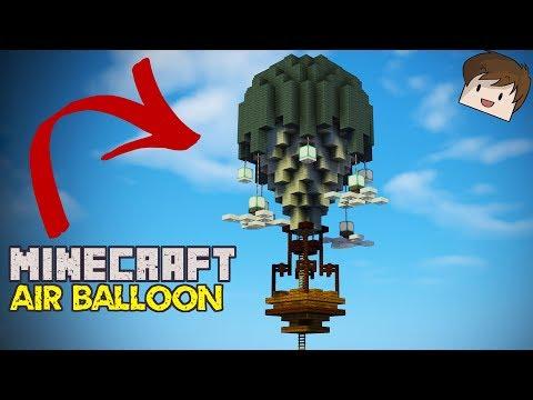 Minecraft Air Balloon House Tutorial