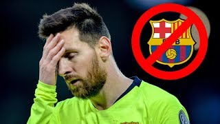 Lionel Messi can leave Barcelona for FREE at the end of the season