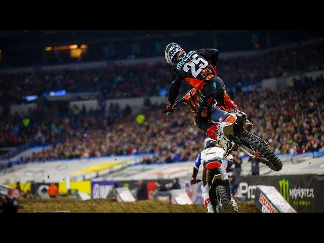 Racer X Films: Ryan Sipes In the Film Room | 2019 Indianapolis Supercross