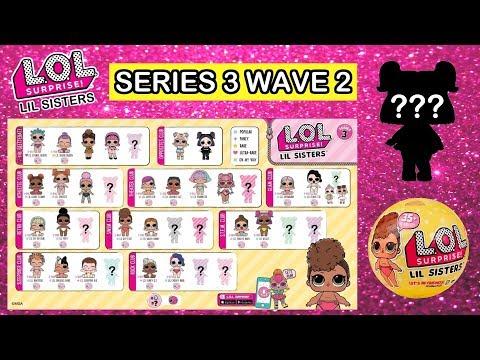 LOL Surprise Series 3 Wave 2 Lil Sisters Predictions | L.O.L. Confetti Pop Lil Sisters Wave 2