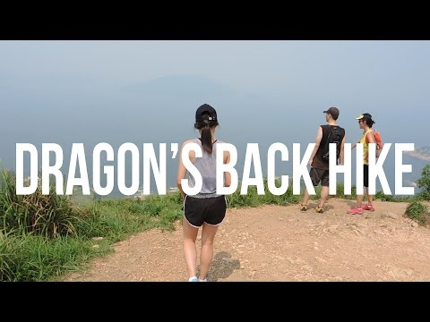 Worst day to hike in Hong Kong | Dragon's Back