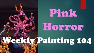 Weekly Painting 104: Pink Horror Skin