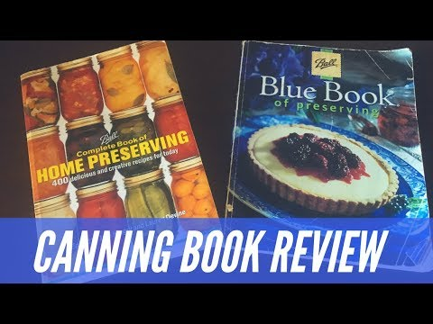 BALL CANNING BOOK | REVIEW | HOME CANNING