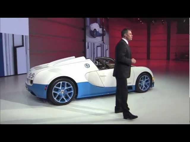 Special Edition Bugatti Veyron 16.4 Grand Sport Vitesse at Volkswagen Group Night in Paris 2012
