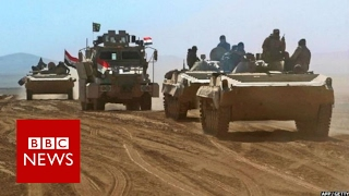 Mosul: Iraqi forces 'within sight' of IS stronghold -  BBC News