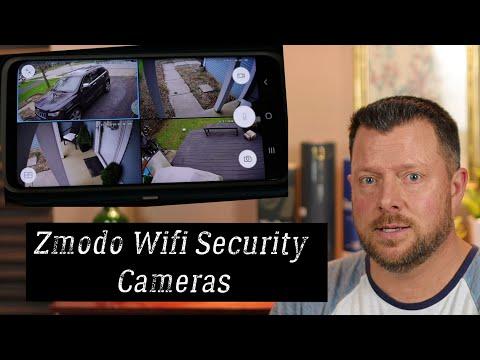 Zmodo WiFi Security Camera
