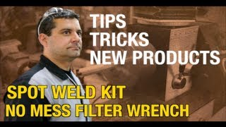 Spot Welding Tips, Rust Removal And Diy Garage Tips On Mark's R&d Corner From Eastwood, Episode 1