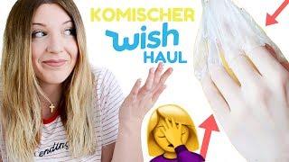 KOMISCHER WISH Haul🤦♀️ Wieso habe ich das bestellt?🤷♀️ l Kathinska